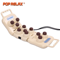 POP RELAX Здоровья Турмалин продукты Электрический Jade массажеры для тела инфракрасный обогрев терапии Иона Массаж камнями P11 шары