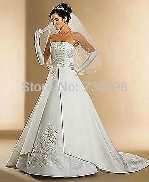 0f22fbf7cea David s Bridal St. Tropez Wedding Gown Dress Size 18 Ivory Style 5268. Price
