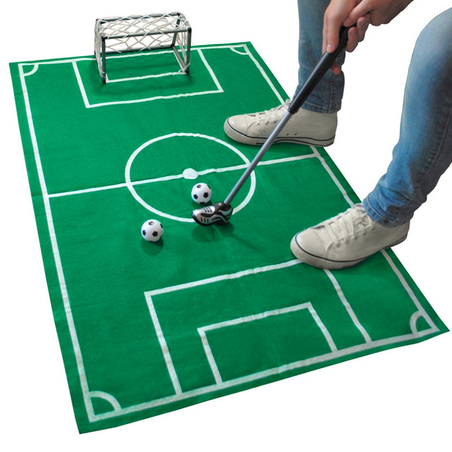 mini portable novelty home office soccer football game toy set fun sport gift new
