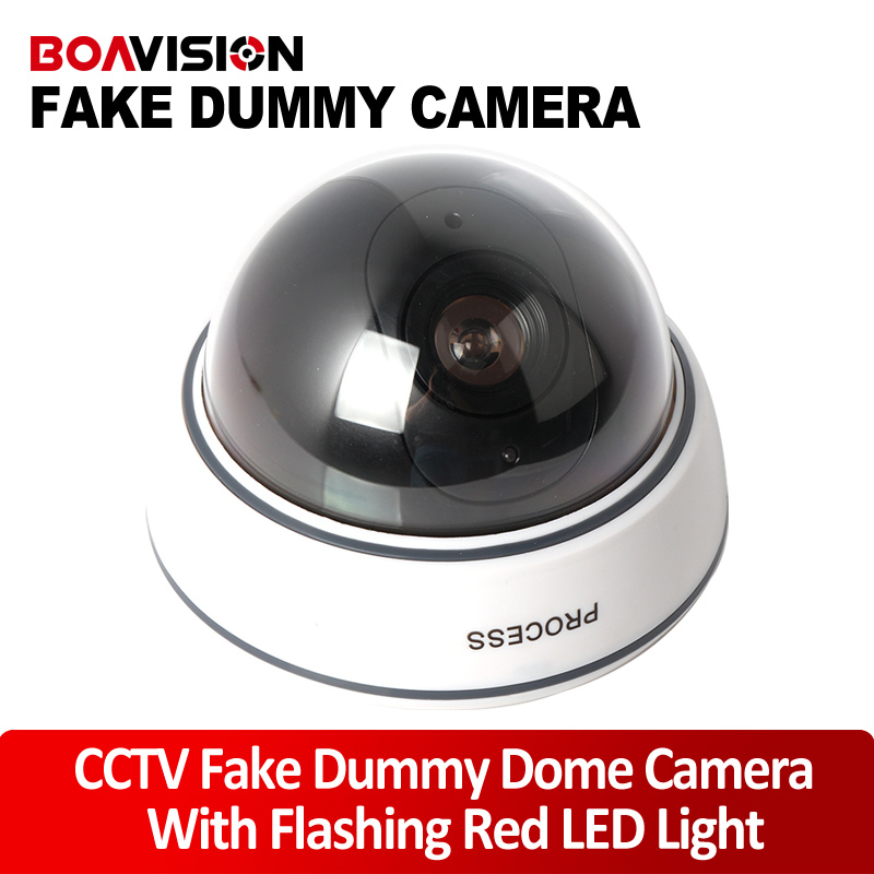 Outdoor Fake Dummy Camera Dome For Security, Fake Security Camera With Illuminating LEDs non working fake dummy phone sample display model for iphone 5