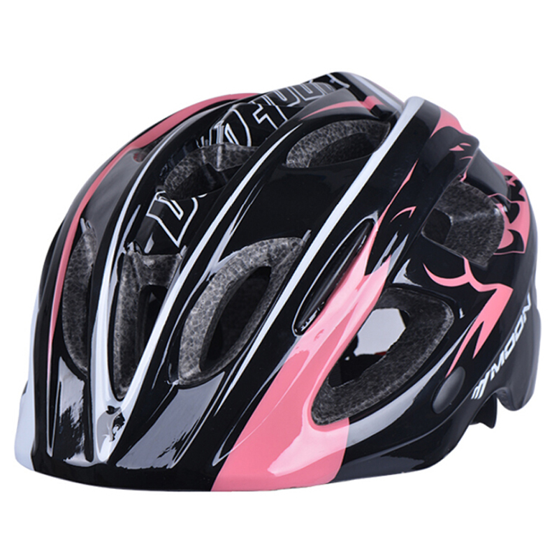 MOON Children Bicycle Helmet Ultralight In-mold Children Cycling Helmet MTB Mountain Child Bike Helmet Casco Ciclismo 49-58CM mountain dh cycling helmet mtb down hill bicycle helmet ultralight women men in mold bike helmet casco ciclismo m l size