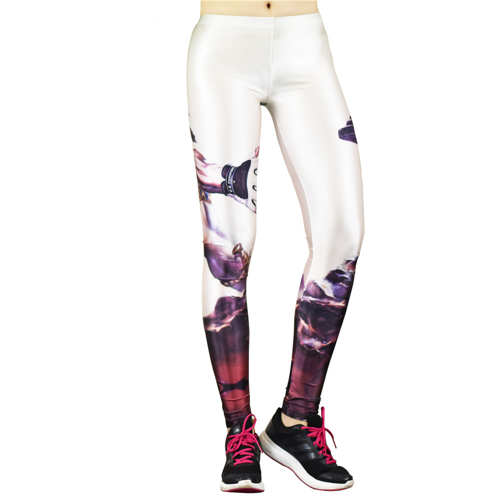 Muscle Man Sexy Fitness Sport Leggings Running Women Fitness Workout