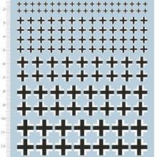 1/72 немецкий военный Тигр Танк Железный крест модель комплект воды Наклейка