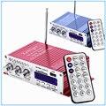 Lepy HY-502 Hi-Fi Stereo Speaker Portátil Mini 5mm Saída 2CH Amplificador de potência USB SD Leitor de Cartão de Alto-falantes Para O Telefone MP3 PC