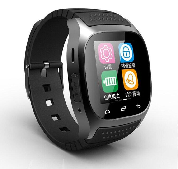 Envío gratuito en existencia dz09 sms marcación bluetooth smart watch m26 m26 sm