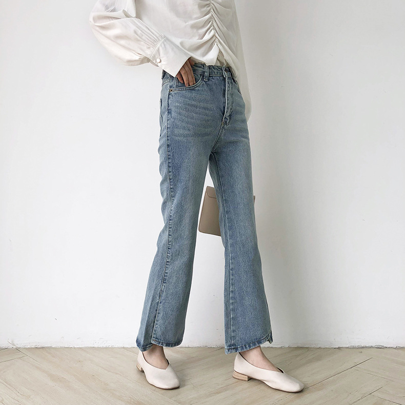 De Y la Punto Mejor Primavera Explosiones Generoso Slim Pantalones 2019 Micro Elegante Venta Fino Pierna Mujer Nueve UzqWRZ