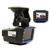 (Russian Voice) 3 In 1 Multi Function Car DVR Camera Radar Detector 2.0 LCD 140 Degree HD 1280*720 Built in GPS Logger Dash Cam