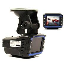 """( Русский голос ) 3 в 1 многофункциональный автомобильный видеорегистратор камеры радар-детектор 2.0 """" LCD 140 град. HD 1280 * 720 встроенный GPS логгером тире камерой"""