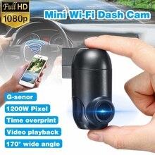 1080P Mini WiFi Dash Cam 170 Degree Wide Viewing Angle Driving Recorde