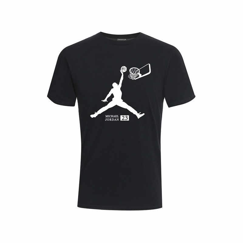 2018 fashion shirt T-shirt mannen O-hals patroon Jordan Nba T-shirt top T-shirt mannen T-shirt