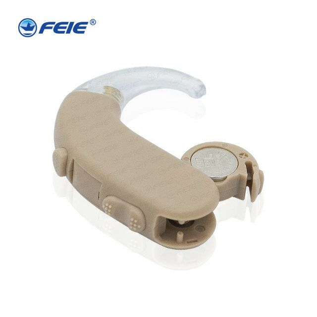 Plastic Super Mini Adjustable Hearing Aids Ear Sound Amplifier Volume Tone Listen Hearing Aid Kit Hook behind Ear care S-303 цена 2017