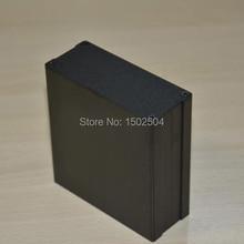 5 ШТ. Алюминиевый корпус Инструмент оболочки электрический проект коробка DIY 97X40X100 мм черный НОВЫЙ