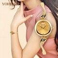 Cmk top marca de luxo relógio de strass mulheres relógios em ouro rosa relógio de aço cheio de moda minimalista relógios hora relogio feminino