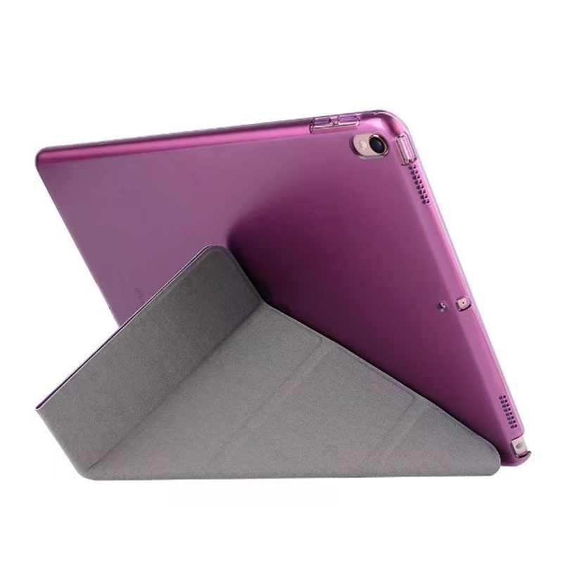 DHL/EMS Free 4-Folder Folio Stand Deformation PU Leather Soft PC Back Flip Cover Case For Apple Ipad 2017 New Pro 10.5Tablet dhl ems new for sch neider nsc 250s 3250n