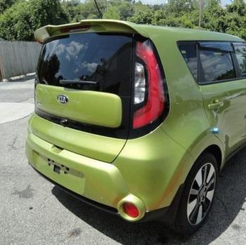 New design For Kia Soul Spoiler  ABS Material Car Rear Wing Primer Color Rear Spoiler For Kia Soul Spoiler 2010-2018
