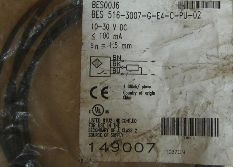 new and original BES 516-3007-G-E4-C-PU-02 [sa] new balluff sensor bes 516 3007 e4 c s49 00 3 spot