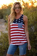 american flag women tank top july 4 tops streetwear pink gothic cotton street style casual tanks sexy black mama fashion american gothic