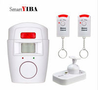 SmartYIBA Mini PIR Alert Sensor Wireless Infrared Motion Sensor Alarm GSM Alarm Wireless IR Remote Home