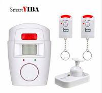 SmartYIBA Mini PIR Alert Sensor Wireless Infrared Motion Sensor Alarm GSM Alarm Wireless IR Remote Home