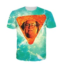 New Fashion 3D T Shirt Danny Dorito T-shirt Danny DeVito In Nacho Cheese Flavor Funny Top Harajuku Summer Shirt Plus S-5XL R2434