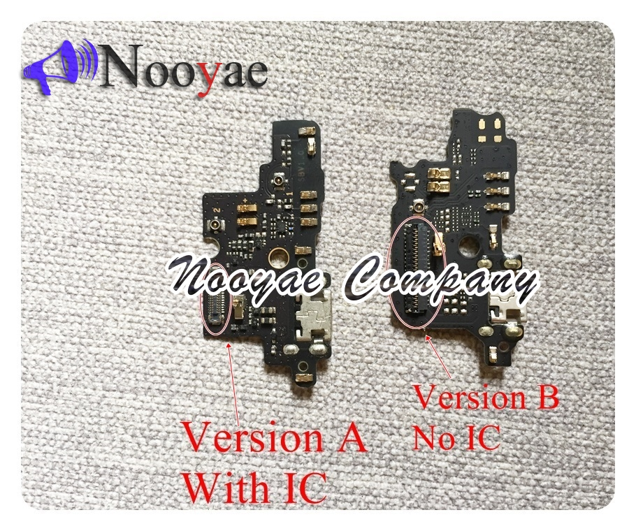 Novaphopat  For ZTE Blade V8 Mini USB Dock Charger Charging Port Connect Connector Flex Cable Microphone With IC +tracking