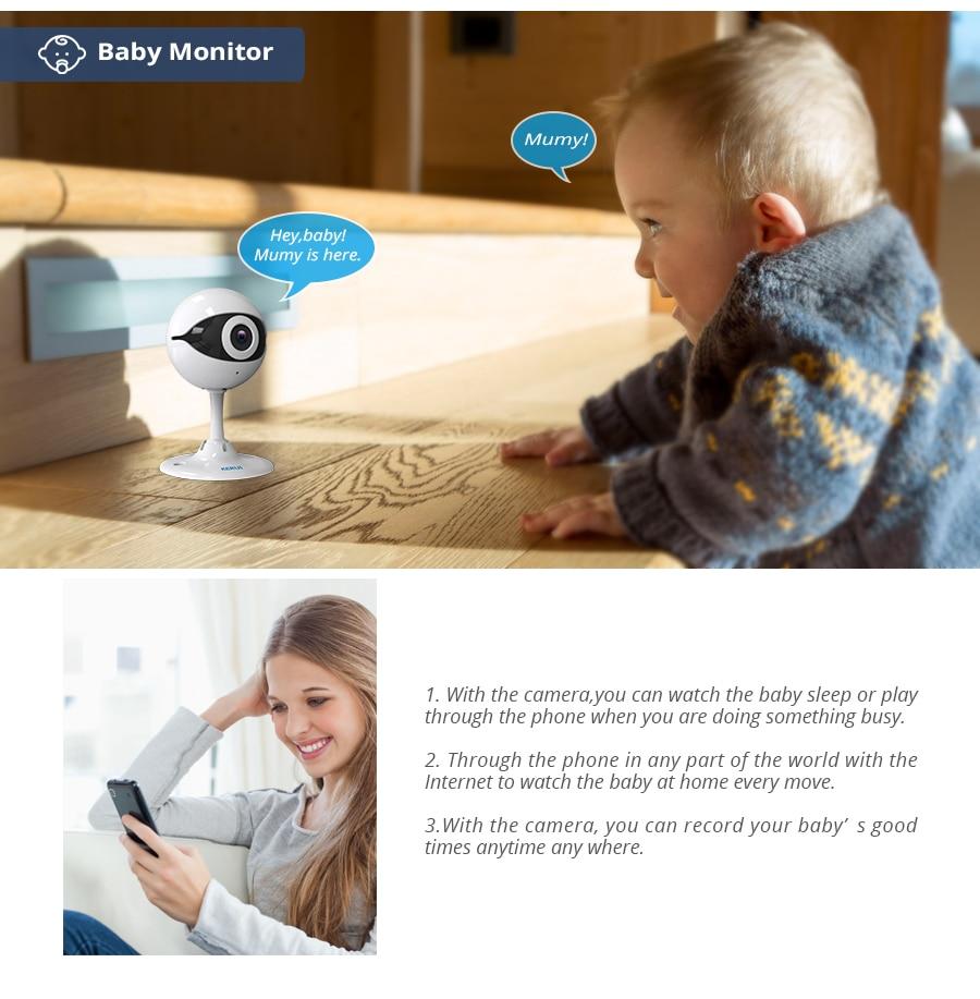 KERUI N61 Wireless Home Security IP Camera Wireless Mini IP Camera Surveillance CCTV Camera Wifi 720P Night Vision Baby Monitor_105