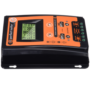 Image 3 - 12V/24V 30A Durable Solar Charge Controller Dual USB LCD Display Solar Panel Battery Regulator PWM Solar Controller