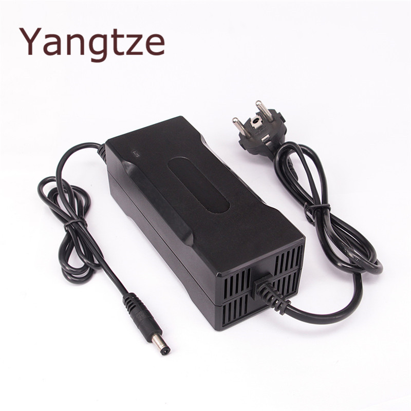 Yangtze 29.4V 4A 3A Lithium Battery Charger For 24V Ebike E-bike Li-Ion Lipo Li Ion Battery Pack Cooling xinmore 5pcs universal battery charger 16 8v 20a 19a 18a lithium 14 8v car battery charger li ion polymer scooter e bike ebike