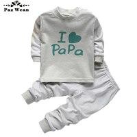 Boy Girl Pajama Autumn Winter Pajamas For Children Boys 2 3 4 Years Kids Pajama Set