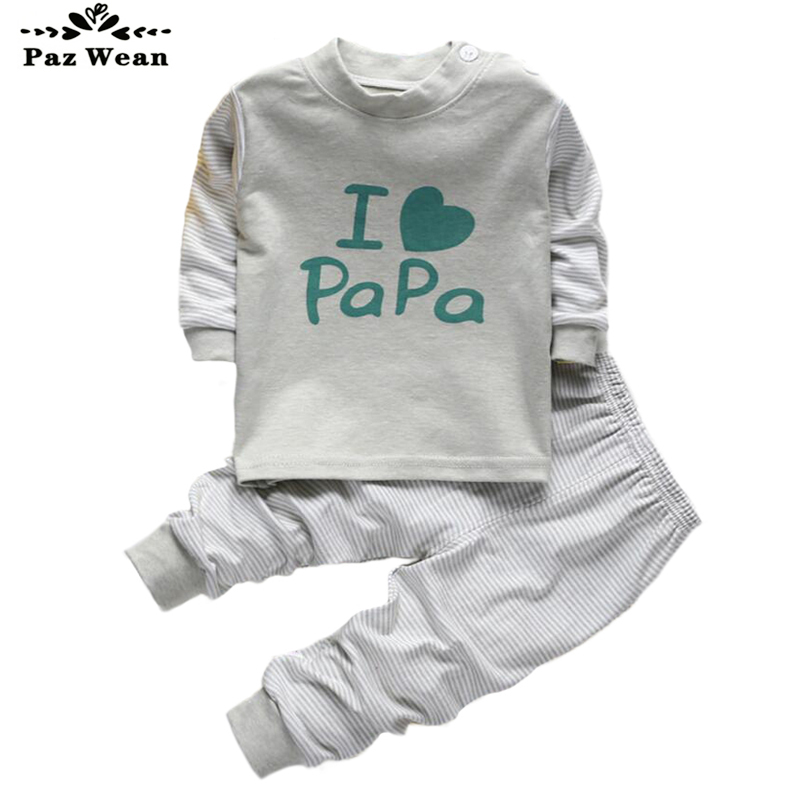 Boy girl pajama Autumn Winter pajamas for children boys 2 3 4 years kids pajama set girl child Sleepwear for children suits 2T baby nightwear pajama suit for children pajamas for boys with long sleeve kids pjs sleepwear set children s clothing 1 2 4 year