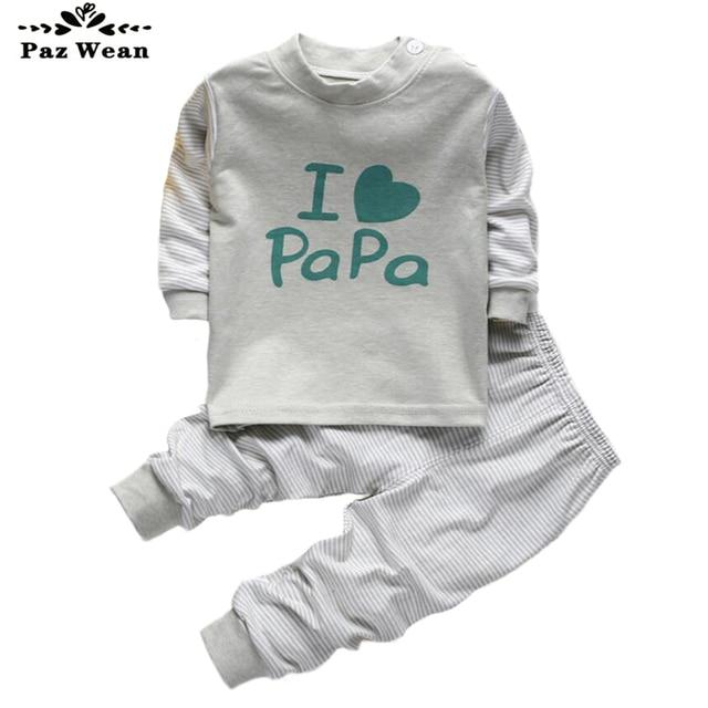 f832bdaef Niño niña pijama Otoño Invierno para niños 2 3 4 AÑOS NIÑOS pijama conjunto  niña ropa