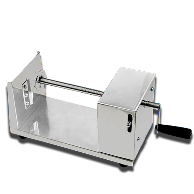 Stainless steel manual Tornado potato cutter Twisted potatoes slicer spiral French Fries cutting chips machine Hot Dog Chopper