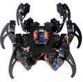 1 Unidades Alum Aleación Hexápodo Araña Seis 3DOF JUEGO de ESTRUCTURA Piernas Robot DIY para Arduino