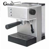 Gustino 19Bar 110 В ~ 220 В полуавтоматический Кофе Эспрессо машина с пенной молоко Нержавеющаясталь 304 Корпус