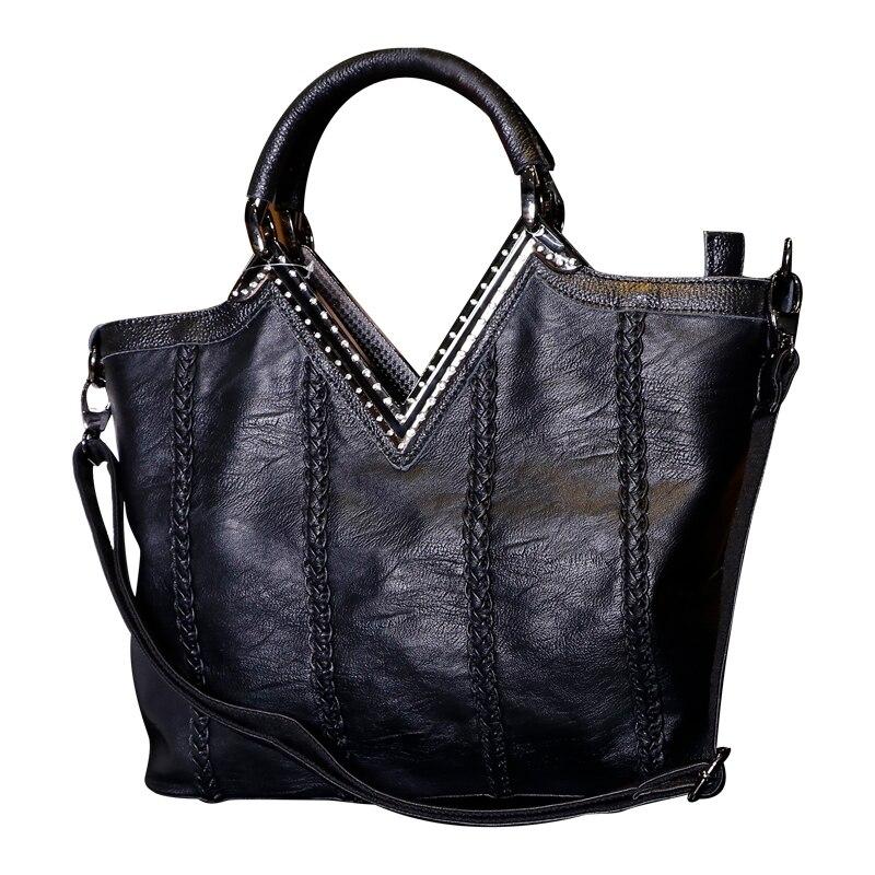 Luxury Brand Designer Handbags Women Bags 2018 Genuine Leather Bags For Women Tassel Shoulder Crocodile Bag Female CrossBody V52