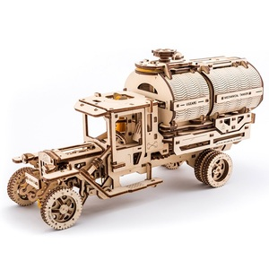 Image 5 - Ukraine UGEARS Wooden Mechanical Transmission Model Adult Assembled Toy Birthday Male Kids Gift Toy