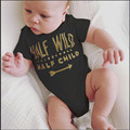 Cotton Infant Body Bebes Short Sleeve Clothing Similar Jumpsuit Printed Baby Boy Girl Bodysuits