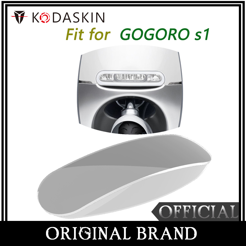 KODASKIN ABS Headlight Cover Protection for Gogoro S1 in Covers Ornamental Mouldings from Automobiles Motorcycles