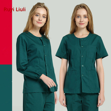 NEW 120 emergency uniforms set nurse dark green overalls suit mens Physicians Suits emergency service clothes hospital set cheap colorful purple pink green echoscope portable hoshcare s7 dual heads stethoscope for family emergency clinic hospital