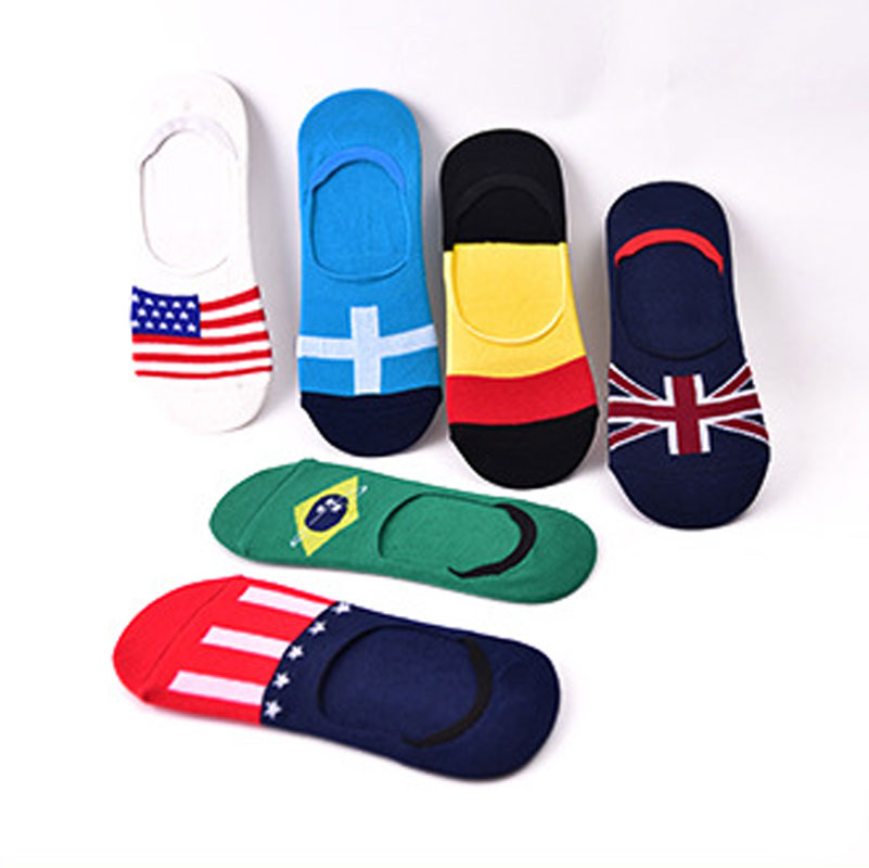 5pairs/lot Mens Sock Slippers Non-slip Invisible Boat Socks Spring Summer Male Ankle Socks Mens Low Cut Crew Socks Cotton Blend