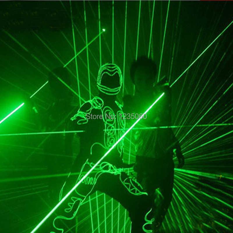 Модный ручной зеленый лазерный меч Laserman показ указатель проектор управление