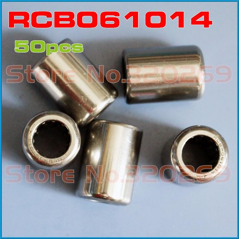 50pcs RCB061014 One Way Clutch 3 8 x 5 8 x 7 8 inch shaft Nadel