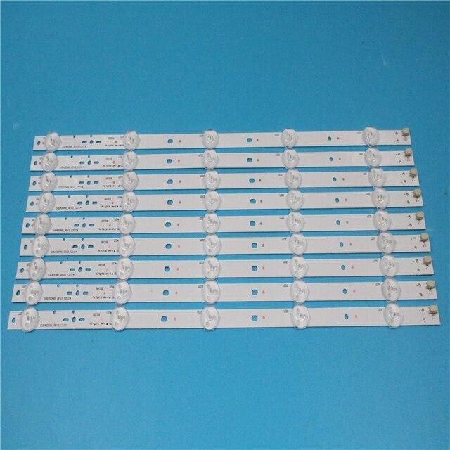 חדש ערכת 10pcs 5LED 395mm LED תאורה אחורית רצועת עבור KDL40R450A KDL 40R473A SVG400A81_REV3_121114