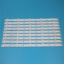 Nowy zestaw 10 sztuk 5LED 395mm listwa oświetleniowa LED dla KDL40R450A KDL 40R473A SVG400A81_REV3_121114