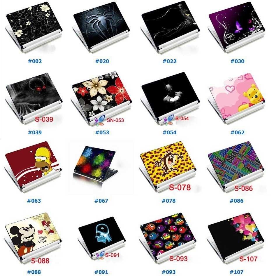 Lotsdesign 10 laptop skin notebook sticker cover decal in for Sticker decorativos para ninos