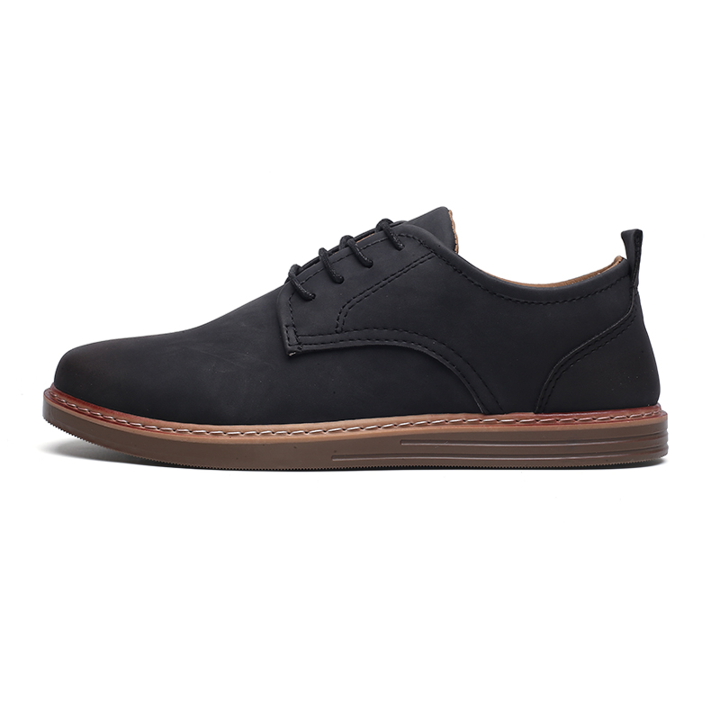 fashion leather casual shoes men comfortable leisure moccasins cheap dress male footwear work elegant boy oxford shoes for m (3)
