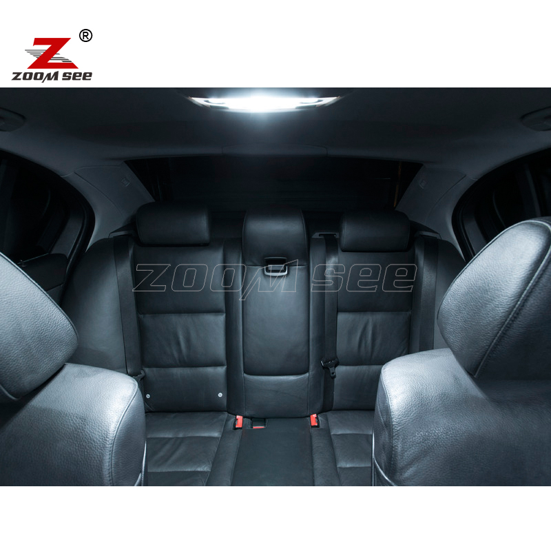 24 шт. светодиодный фонарь освещения номерного знака+ внутренний Купол огни комплект для BMW серий 7 E65 E66 745i 745Li 750i 750Li 760i 760Li(2002-2008