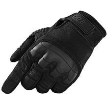 Тактические перчатки военные армейские Пейнтбольные стрельба, страйкбол боевые противоскользящие резиновые перчатки