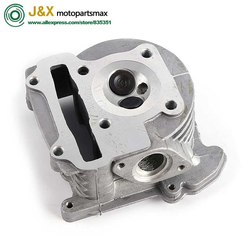 Head Performance GY6 50 80 100 Chinese Scooter Moped 4 Stroke 139QMB 137QMA Cylinder Kit Head Assembly 64mm valve or 69mm valve