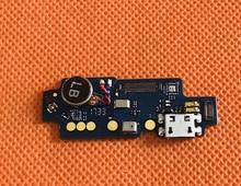 Б/у оригинальная зарядная плата с USB разъемом + микрофон для Vernee Thor Plus MT6753 Octa Core Бесплатная доставка
